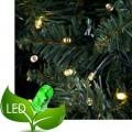 100 Λαμπάκια Led 8 Προγράμματα Πράσινο καλώδιο - λευκό θερμό φως