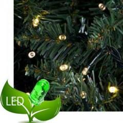 240 Λαμπάκια Led 8 Προγράμματα Πράσινο καλώδιο θερμό λευκό φως