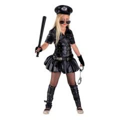 Αστυνομικίνα ατίθαση στολή για κορίτσια με φούστα