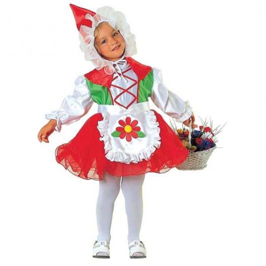 Κοκκινοσκουφίτσα στολή για μικρά κορίτσια