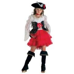 Πειρατίνα Των 7 θαλασσών στολή κοριτσιών με φούστα