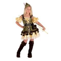 Ρομπέν Των Δασών στολή για κορίτσια