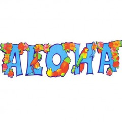 Γιρλάντα Αλόχα Με Λουλούδια