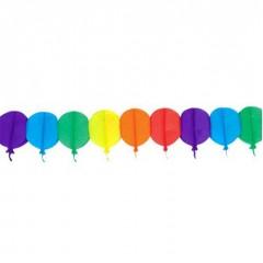 Γιρλάντα πολύχρωμα Μπαλόνια