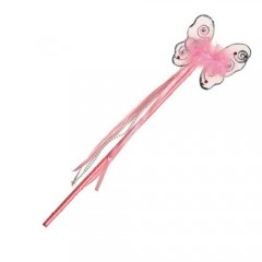 Ραβδί Νεράιδας ροζ πεταλούδα