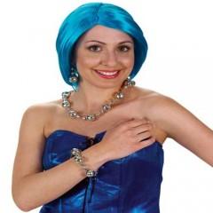Κοσμήματα Disco βραχιόλι σκουλαρίκια κολιέ