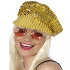 Καπέλο Disco με πούλιες χρυσό