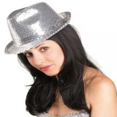 Καπέλο καβουράκι με πούλιες σε δυο χρώματα