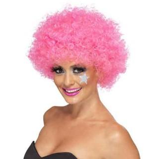 Περούκα κλόουν Ροζ