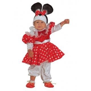 Ποντικούλα μπεμπέ για μωράκια minnie mouse