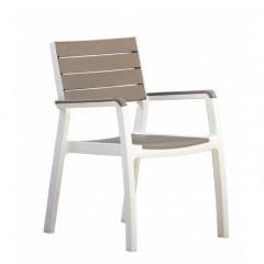 Harmony Πολυθρόνα Πολυπροπυλενίου look wood