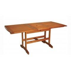 Επεκτεινόμενο 120~160X80cm Τραπέζι από ξύλο ακακίας