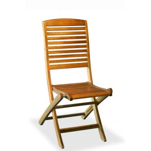 Καρέκλα κήπου ξύλινη ακακίας πτυσσόμενη