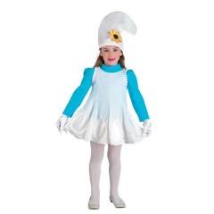 Στρουμφίτα στολή για κορίτσια η Μικρή Νάνος