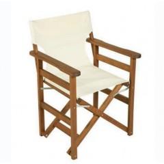 Σκηνοθέτη Πολυθρόνα ξύλινη οξιάς με καβίλιες