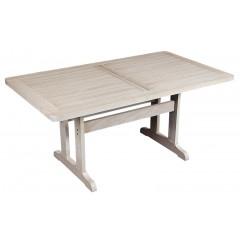 Δίας 180x90cm Ξύλινο τραπέζι οξιάς σε 6 χρώματα