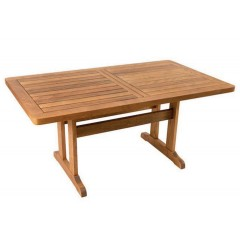 Δίας 160x90cm Ξύλινο τραπέζι οξιάς σε 6 χρώματα