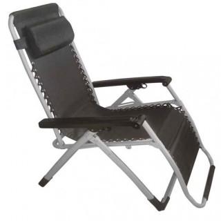 Arial πολυθρόνα ξαπλώστρα μεταλλική πτυσσόμενη με ανάκλιση