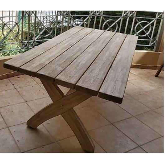 ΗΦΑΙΣΤΟΣ  Τραπέζι παραλληλόγραμμο 200CM X 90 CM