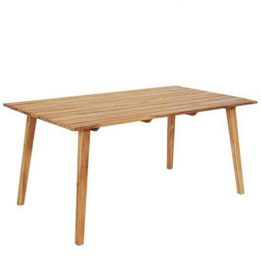 Τραπέζι 165x90cm Modena σταθερό από ξύλο ακακίας