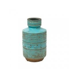 Βάζο Κεραμικό indigo τυρκουάζ 25cm