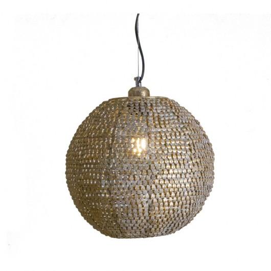 Φωτιστικό οροφής μπάλα σαμπανί 30cm