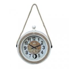 Διακοσμητικό Ρολόι Τοίχου Σχοινί