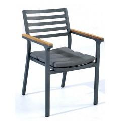 Καρέκλα polywood με μαξιλάρι Ballet