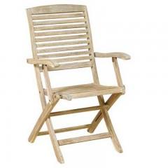 Sahara Get ξύλινη πτυσσόμενη πολυθρόνα εξωτερικού χώρου από ξύλο ακακία