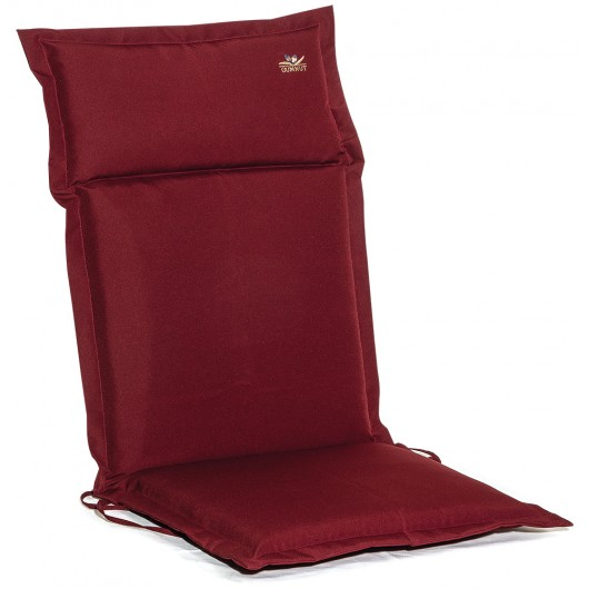 Μαξιλάρι πολυθρόνας με ψηλή πλάτη μπορντώ