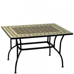 Τραπέζι Mosaic 150x90cm παραληλόγραμμο μεταλλικό