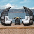 Bamboo Dining Booth σαλόνι-ιδιωτική τραπεζαρία