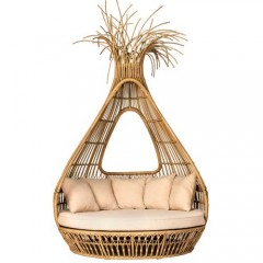 Bongo day bed ονειρικός καναπές ξαπλώστρα rattan