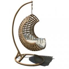 Dallin steel Κρεμαστή πολυθρόνα κούνια με βάση