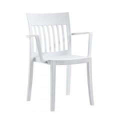 Edem Π πολυθρόνα πολυπροπυλενίου λευκή