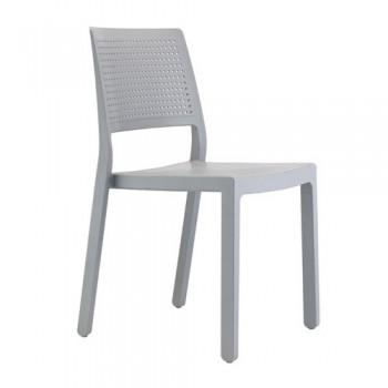 Emi καρέκλα πολυπροπυλενίου σε τρία χρώματα