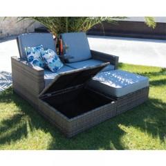 Genius set καναπές ξαπλώστρα διθέσιος