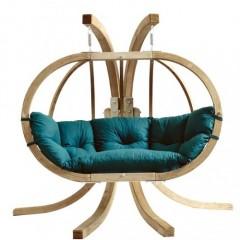 Globo Royal πολυθρόνα κρεμαστή με Βάση και μαξιλάρι σε 4 χρώματα