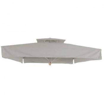 Ανταλλακτικό πανί 300x300cm για ομπρέλα με αεραγωγό και βολάν