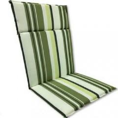 Μαξιλάρι Με Ψηλή Πλάτη ριγέ Σαχάρα Γκρί Πράσινο Και Λαδί