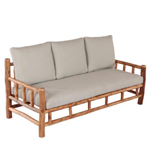 Saigon καναπές τριθέσιος από ξύλο ευκαλύπτου