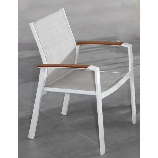 Πολυθρόνα αλουμινίου Textilene Sunnyside