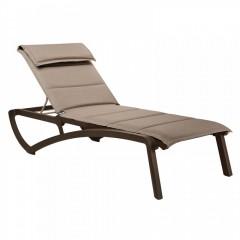 Sunset Confort πολυπροπυλενίου Textline μαξιλάρι Bronze Brun