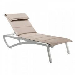 Sunset Confort πολυπροπυλενίου Textline μαξιλάρι Βlanc Βeige