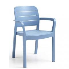Tisara Πολυθρόνα στοιβαζόμενη διαθέσιμη σε εφτά χρώματα