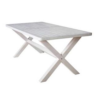 Απόλλων Τραπέζι 180x92cm σταθερό με χιαστί πόδια