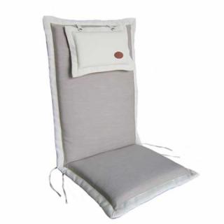 Μαξιλάρι πολυθρόνας ψηλή πλάτη χρώμα μπεζ taupe