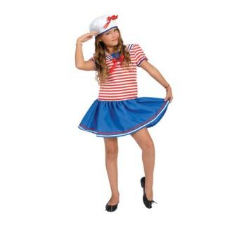Ναυτίνα αποκριάτικη στολή για κορίτσια
