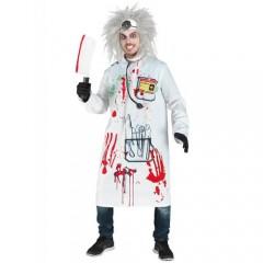 Τρελός επιστήμονας στολή για ενήλικες