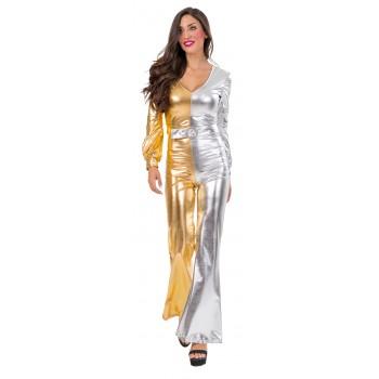 Αποκριάτικη Στολή Ενηλίκων 70'S Glam Lady One Size